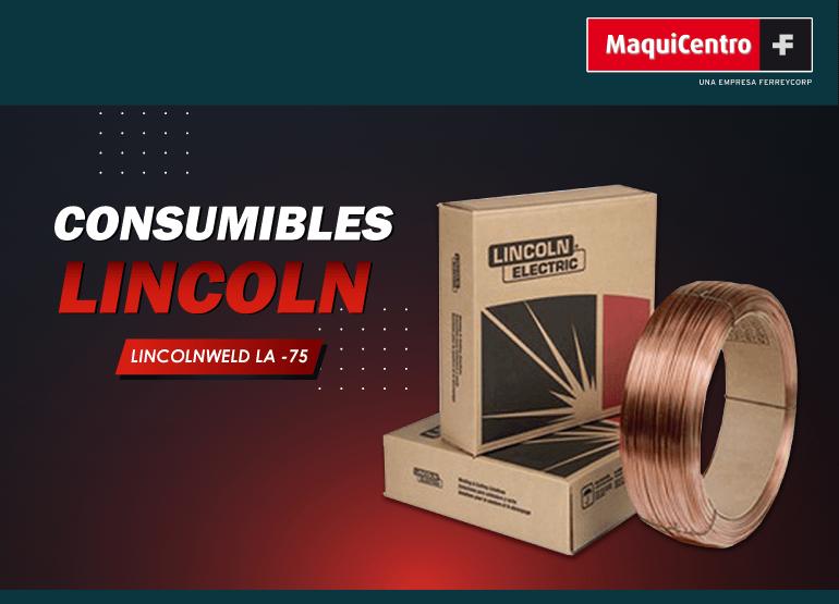 CONSUMIBLES LINCOLNWELD LA-75