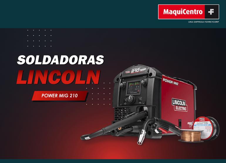 SOLDADORAS LINCOLN POWER MIG 210